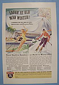 Vintage Ad: 1938 Greyhound Lines (Image1)