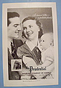 Vintage Ad: 1938 The Prudential Insurance Company (Image1)