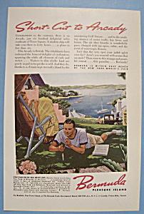 Vintage Ad: 1939 Bermuda Pleasure Island (Image1)