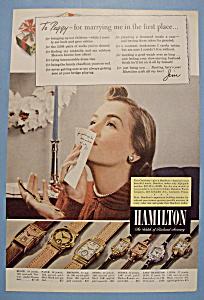 Vintage Ad: 1940 Hamilton Watch (Image1)