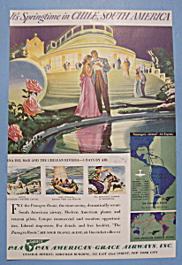 Vintage Ad: 1940 Pan American - Grace Airways
