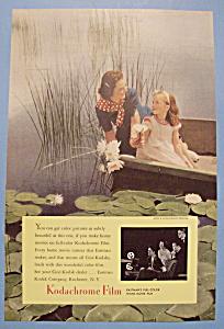 Vintage Ad: 1940 Kodachrome Film (Image1)