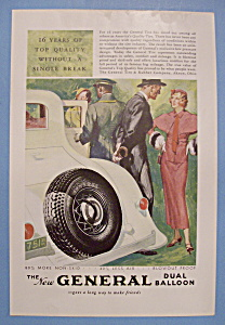 1933 General Dual Balloon Tires with Woman & Man (Image1)
