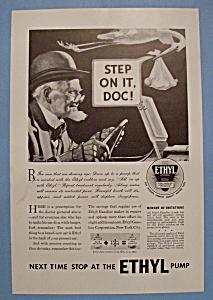 Vintage Ad: 1933 Ethyl Gasoline (Image1)