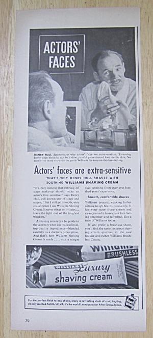 1949 Williams Luxury Shaving Cream with Henry Hull (Image1)