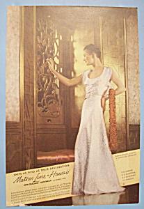 Vintage Ad: 1936 Matson Line To Hawaii (Image1)