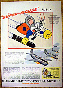1944 Oldsmobile Super Mouse with Navy Squadron (Image1)