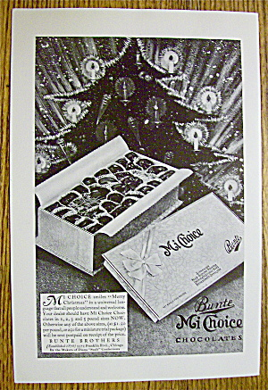 1930 Bunte Mi Choice Chocolates With Box Of Chocolates