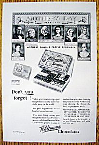 Vintage Ad: 1930 Whitman's Chocolates (Image1)