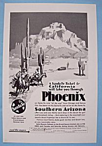 Vintage Ad: 1930 Santa Fe (Image1)