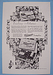 Vintage Ad: 1930 Whitman's Sampler