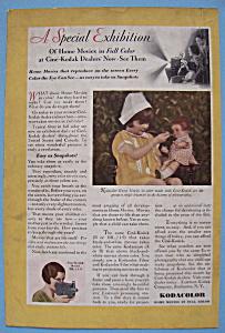 Vintage Ad: 1930 Kodacolor (Image1)