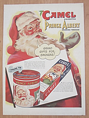 1946 Camel Cigarettes with Santa Claus  (Image1)