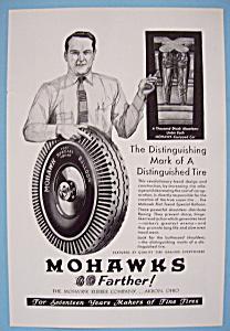 Vintage Ad: 1930 Mohawk Tires (Image1)