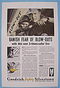 Vintage Ad 1933 Goodrich Tires (Image1)