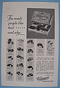 Vintage Ad: 1931 Whitman's Chocolates & Confections (Image1)