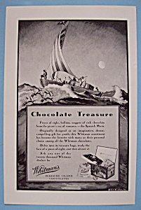 Vintage Ad: 1931 Whitman's Pleasure Island Chocolates