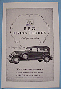 Vintage Ad: 1931 REO Flying Clouds (Image1)