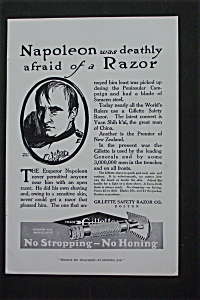 1916 Gillette Safety Razor Co. with Napoleon (Image1)
