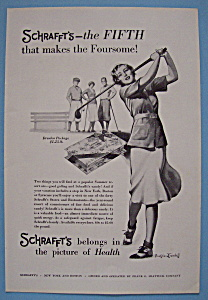 Vintage Ad: 1931 Schrafft's Chocolates By B. Crandell (Image1)