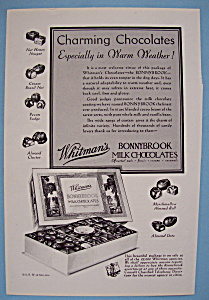 Vintage Ad: 1931 Whitman's Milk Chocolates