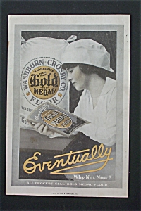 1916 Gold Medal Flour with Woman Looking at Book (Image1)