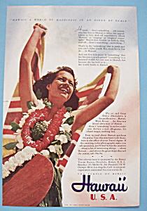 Vintage Ad: 1941 Hawaii (Image1)