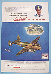 Vintage Ad: 1941 Lockheed Aircraft Corporation