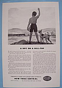 Vintage Ad: 1942 New York Central System (Image1)