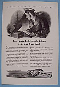 Vintage Ad: 1943 Hamilton Watch (Image1)