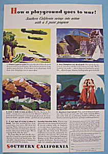 Vintage Ad: 1943 Southern California (Image1)