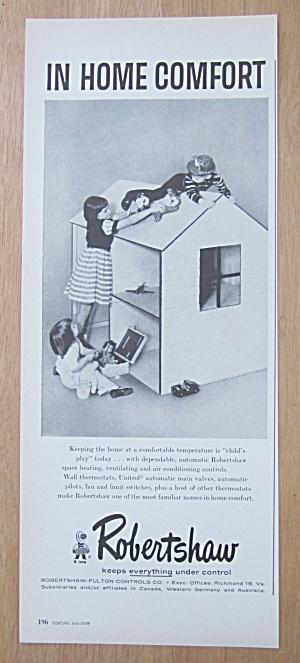 1959 Robertshaw Fulton Controls Co w/Kids & Playhouse  (Image1)