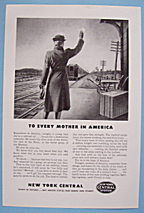 Vintage Ad: 1943 New York Central System