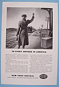 Vintage Ad: 1943 New York Central System (Image1)