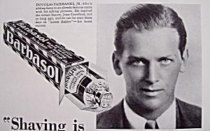 1930 Barbasol Shaving with Douglas Fairbanks Jr. (Image1)