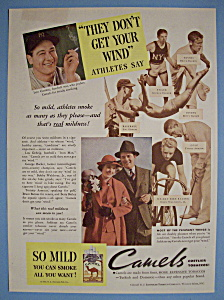 1935 Camel Cigarettes with Baseball's Great Lou Gehrig (Image1)
