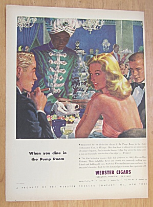 1946 Webster Cigars with The Pump Room (Image1)