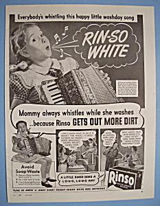 Vintage Ad: 1944 Rinso Detergent (Image1)