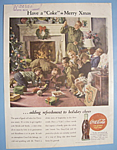 1944 Coca Cola (Coke) With Soldiers Coming Home