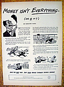 Vintage Ad: 1947 Money Isn't Everything W/ Groucho Marx