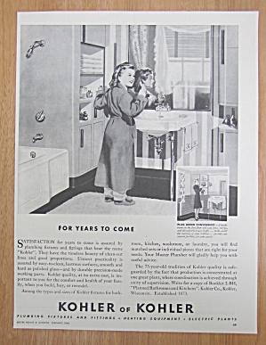 1946 Kohler Of Kohler with Little Girl Brushing Teeth (Image1)