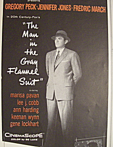 Vintage Ad: 1956 The Man In The Gray Flannel Suit