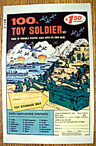 Vintage Ad: 1972 100 Piece Toy Soldier Set (Image1)
