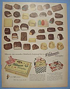 Vintage Ad: 1955 Whitman's Sampler (Image1)