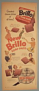 Vintage Ad: 1956 Brillo Soap Pads (Image1)