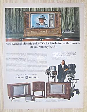 1969 General Electric Color TV w/ El Matador Model  (Image1)