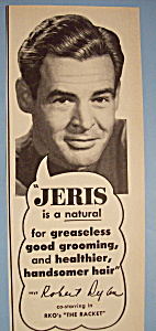 Vintage Ad: 1952 Jeris Hair Tonic With Robert Rylen