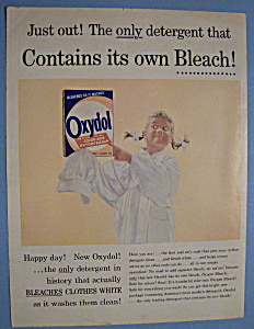 1956 Oxydol Laundry Detergent w/Girl Wearing Shirt (Image1)