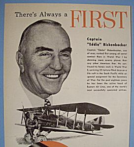 Vintage Ad: 1951 AC Fuel Pumps w/ E. Rickenbacker (Image1)