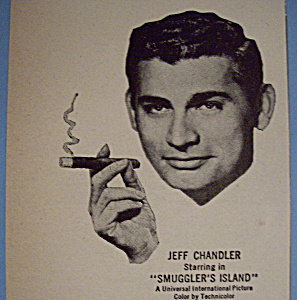 Vintage Ad: 1951 Cigars W/ Jeff Chandler